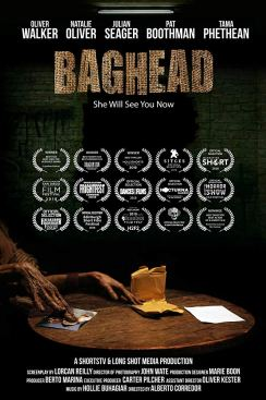 Baghead, poster